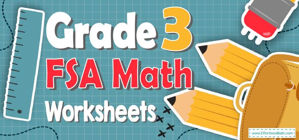 3rd Grade FSA Math Worksheets